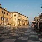 Marktplatz von Lazise am Gardasee