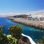 View of the Puerto del Carmen, Lanzarote
